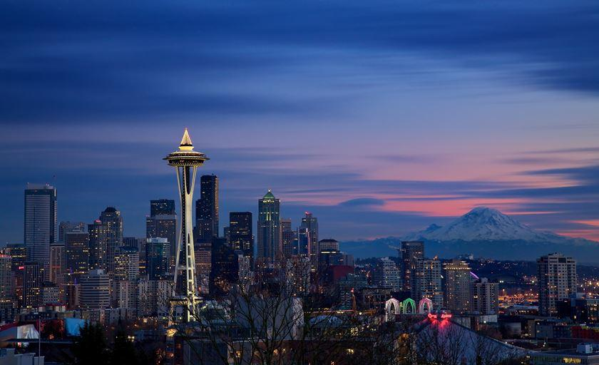Picture of the Seattle skyline